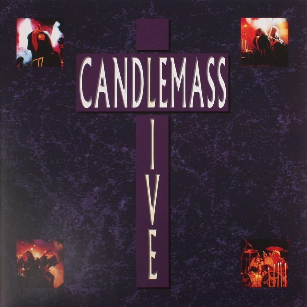 CANDLEMASS - Live (re-issue) (Deep Purple Vinyl - ltd. 200) 2LP