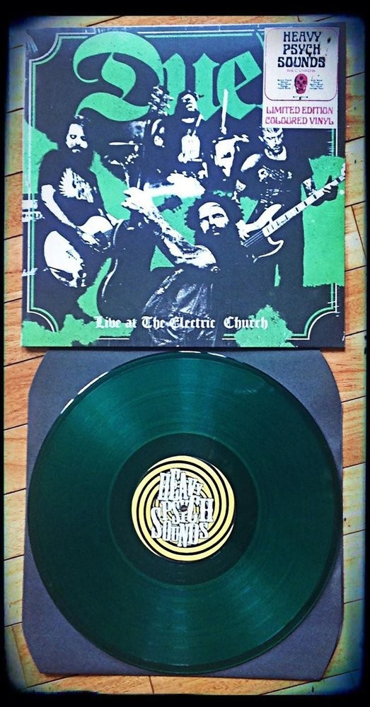 DUEL - LIVE AT THE ELECTRIC CHURCH -- LTD Green Cover + Green