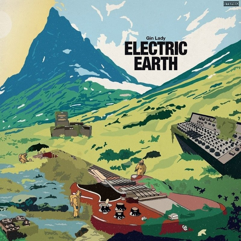 GIN LADY - Electric Earth  - LP