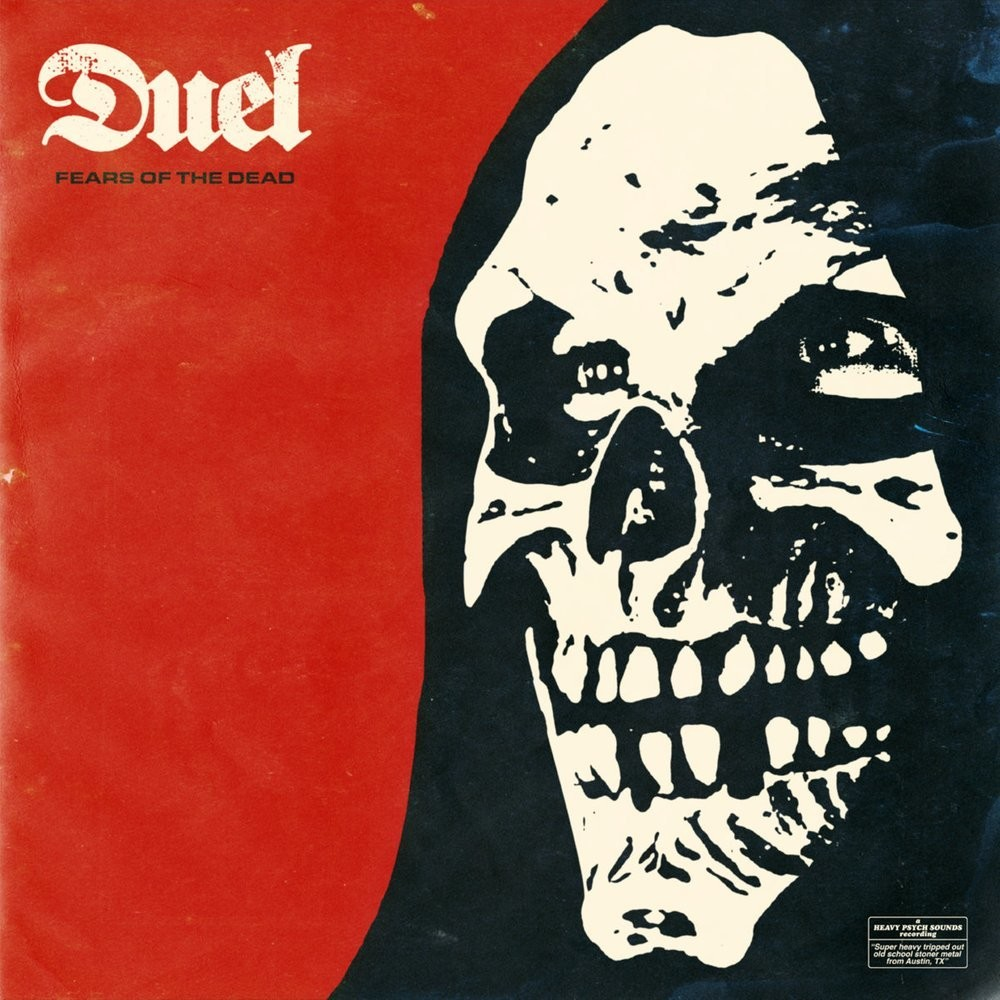 DUEL - FEARS OF THE DEAD [REISSUE] -- Ltd White Purple Red/Black