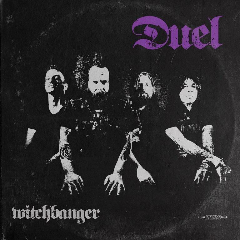 DUEL - WITCHBANGER -- Ltd White Purple Red/Black
