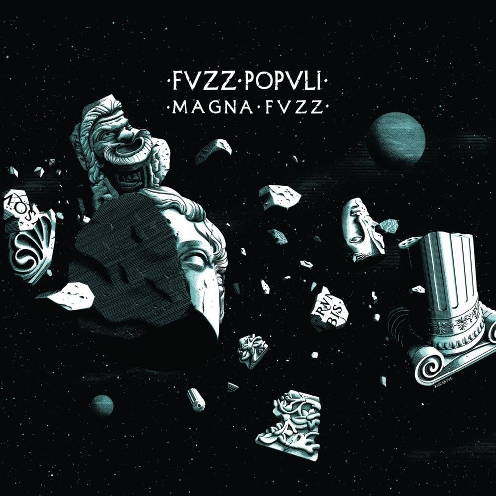 "Fvzz Popvli - Magna Fvzz - ""Splatter"" Trans./Yellow/Blue/Red/Purple"