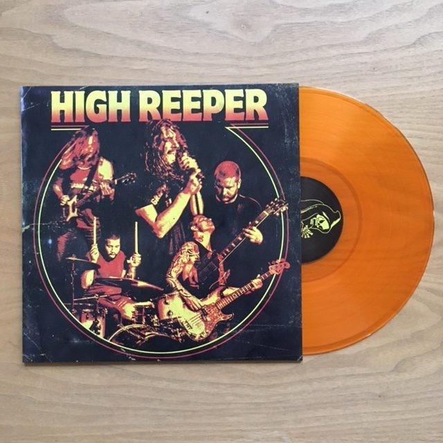 HIGH REEPER - SELFTITLED -- Ltd Transparent Orange
