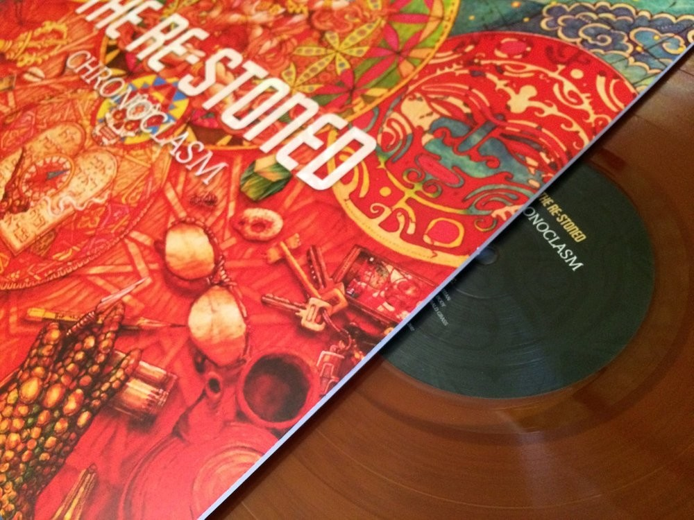 RE-STONED, THE - Chronoclasm (orange/purple) LP *KOZMIK EDITION*