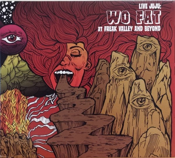 WO FAT - LIVE JUJU : FREAK VALLEY AND BEYOND - 2LP GATEFOLD