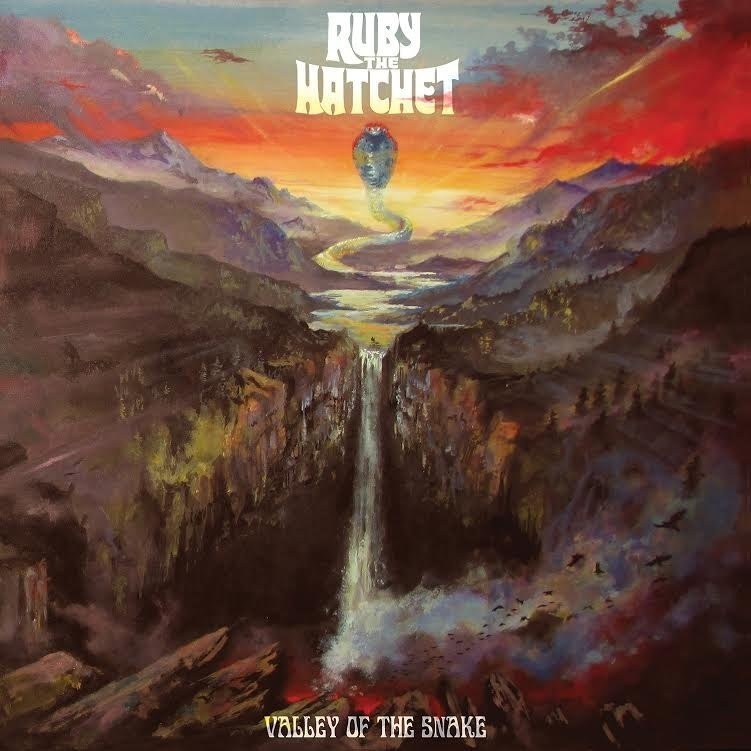 Ruby The Hatchet - Valley Of The Snake -Rojo (Red Haze)-