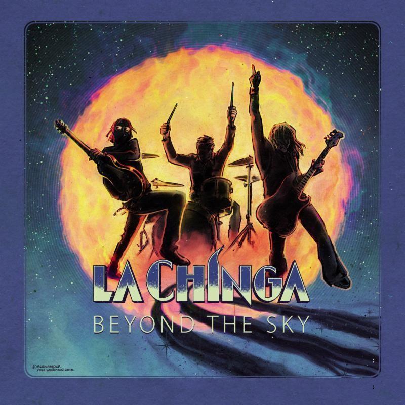 LA CHINGA - BEYOND THE SKY (naranja) - LP