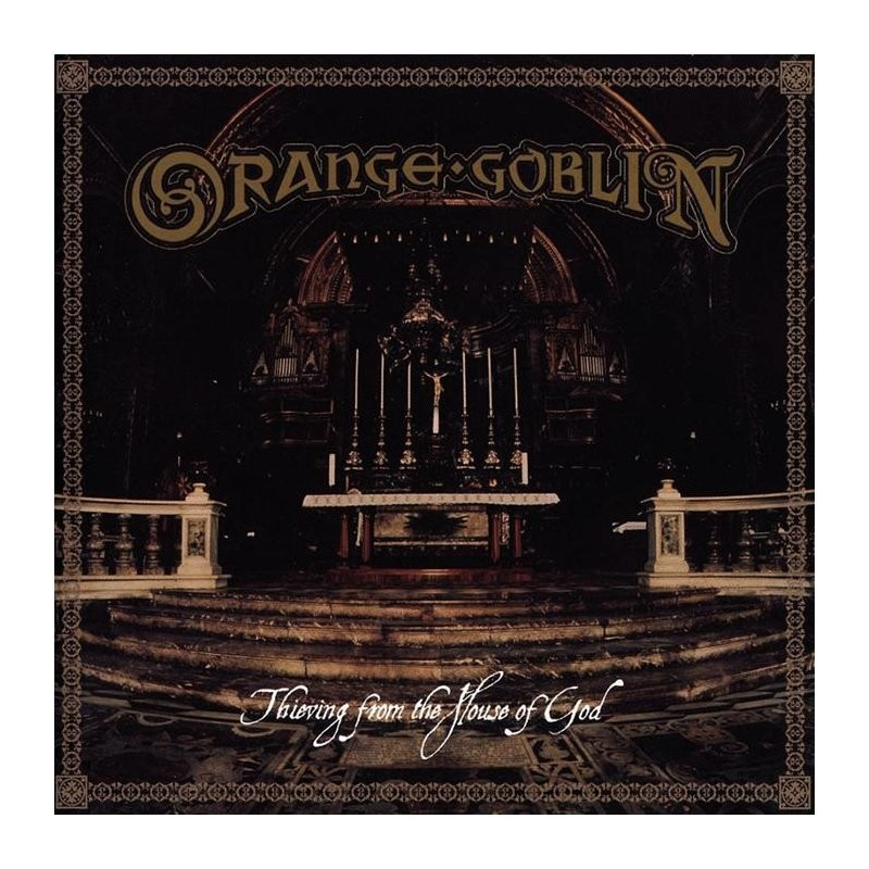 ORANGE GOBLIN - THIEVING FROM THE HOUSE OF GOD (color)  - LP