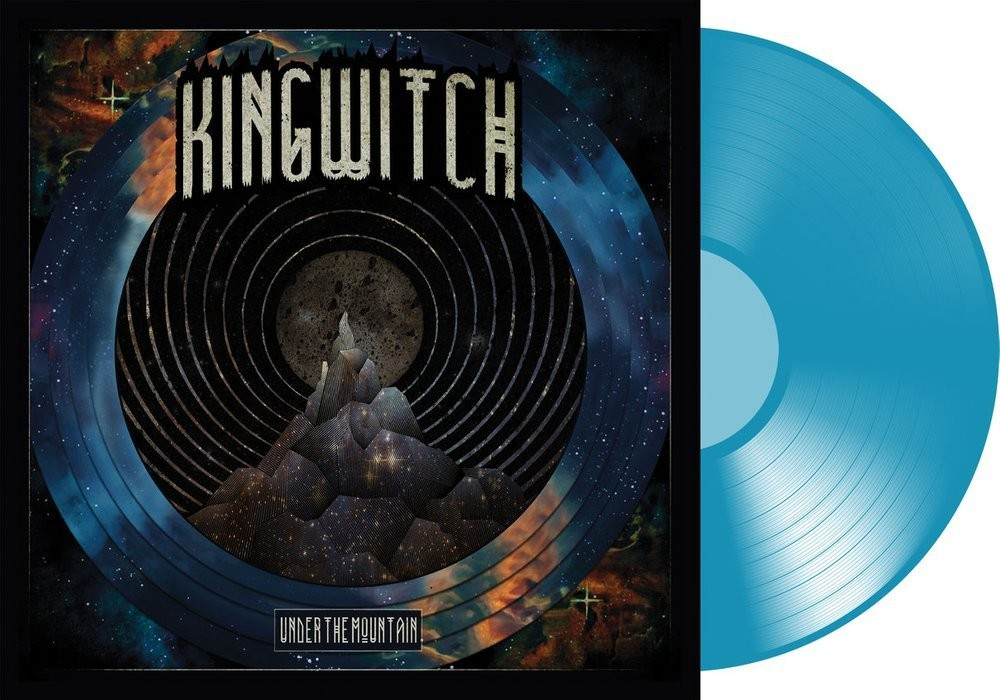 KING WITCH - UNDER THE MOUNTAIN - Transp. Blue-