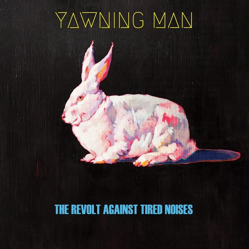 Yawning Man - The Revolt Against Tired Noises - Half Red/Clear Blue