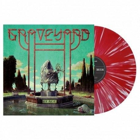 Graveyard - Peace - Splatter Rojo/Blanco - Ed. Limitada