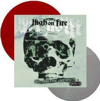 High On Fire - Spitting Fire Live Vol. 1 & 2 - 2Lp Black