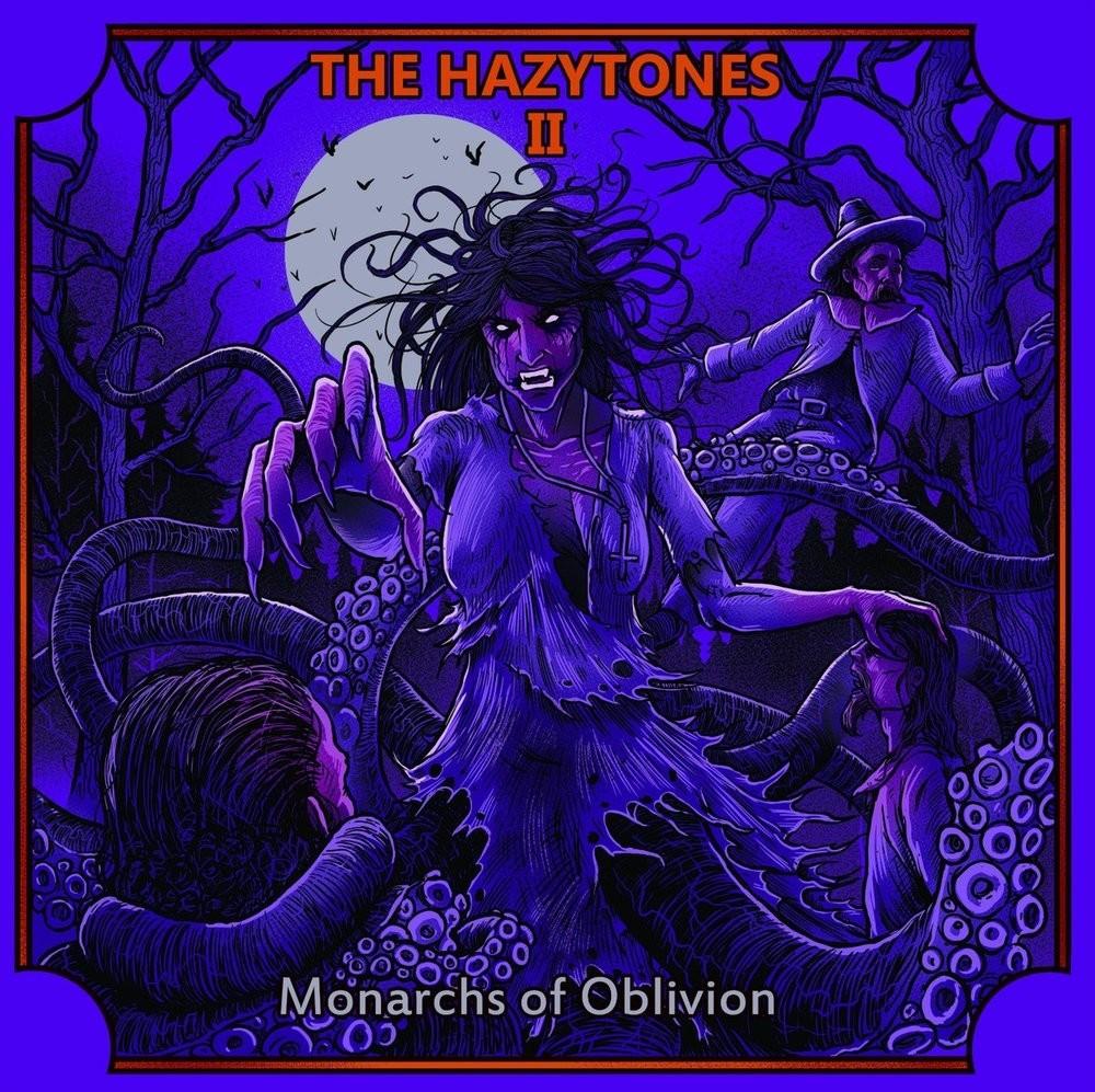 HAZYTONES - HAZYTONES II: MONARCHS OF OBLIVION (color)  - LP