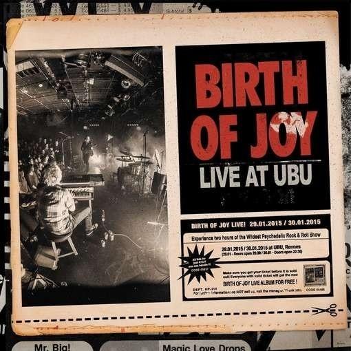 Birth Of Joy - Live At Ubu - Marbled- 3LP (color)