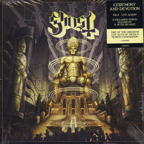 Ghost - Ceremony And Devotion - 2LP
