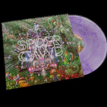 SPIDERGAWD - V - Color Púrpura - LP+CD