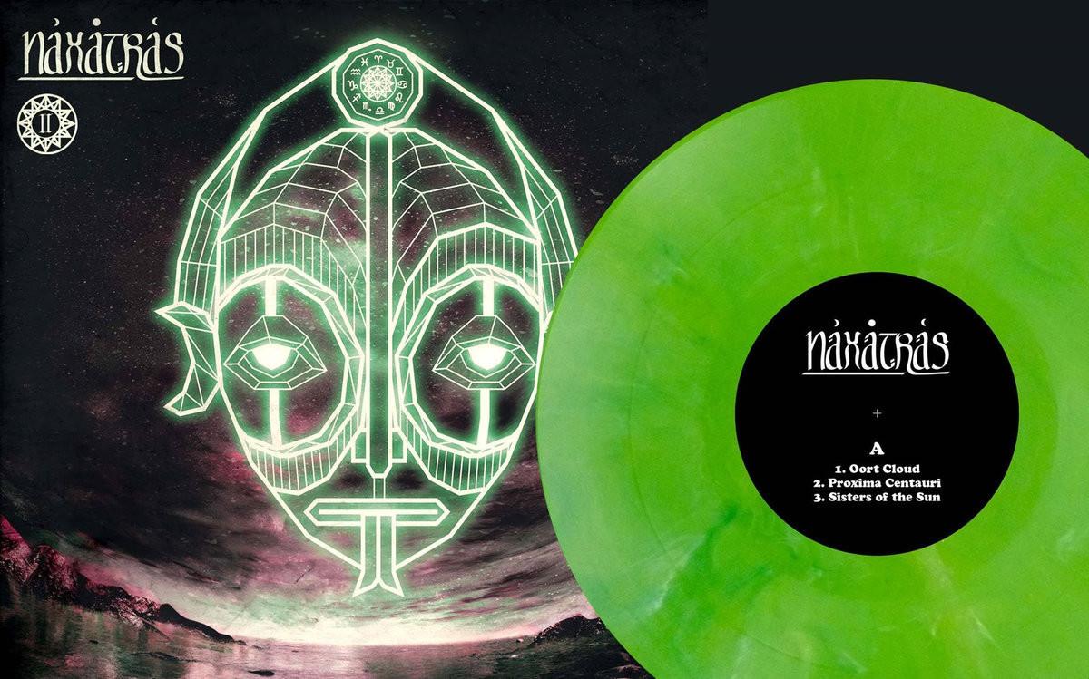 Naxatras - II - LP - Ed. Limitada Verde