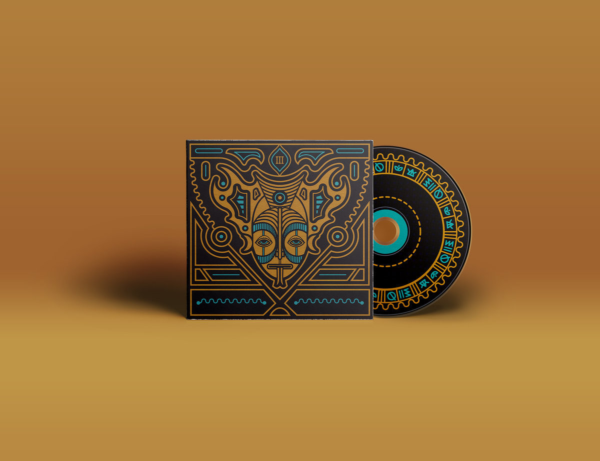 Naxatras - III - CD - Triple Gatefold Cover