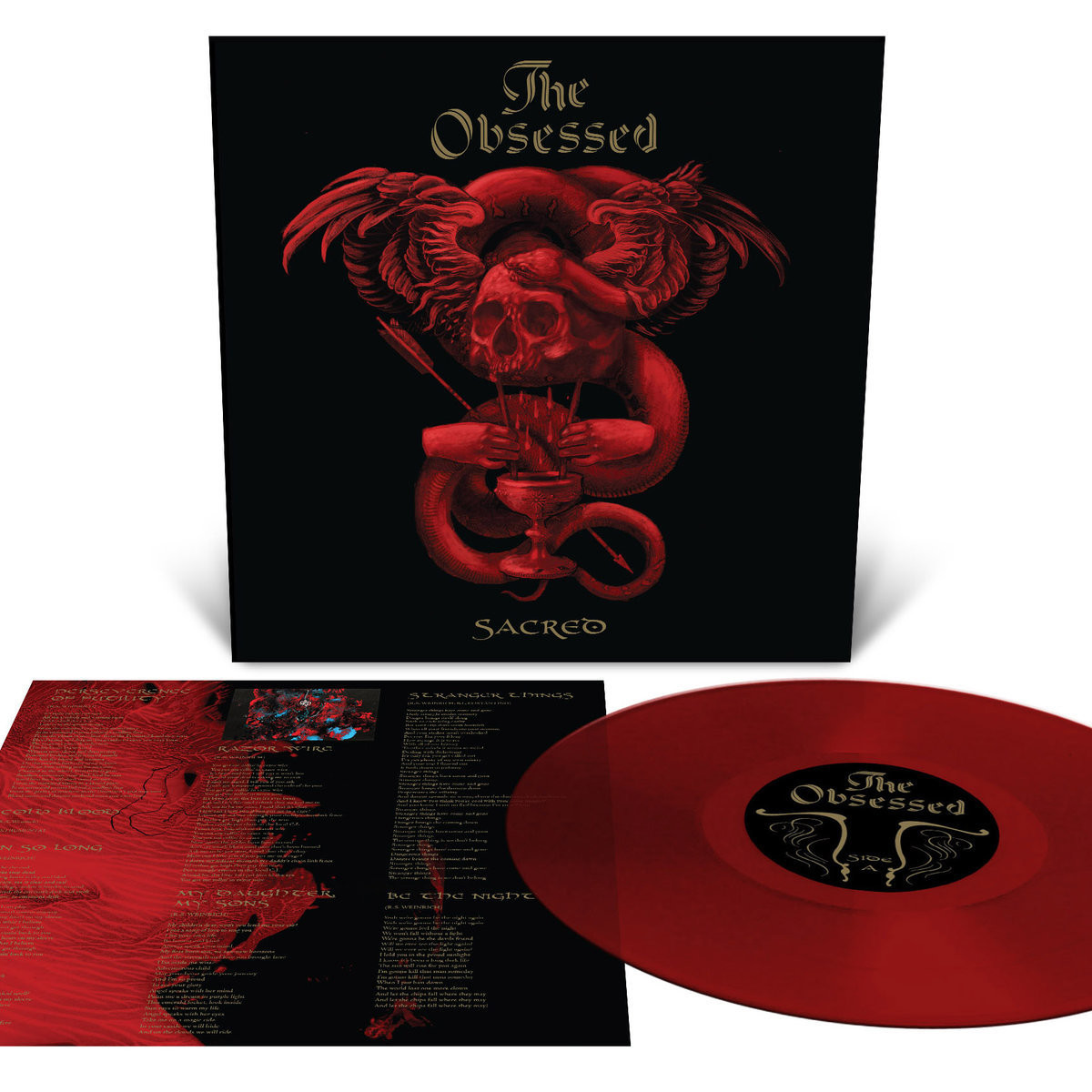 The Obsessed - Sacred - Red Blood Vinyl Ed.