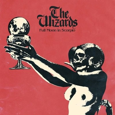 THE WIZARDS - Full Moon in Scorpio LP (NEON MAGENTA)