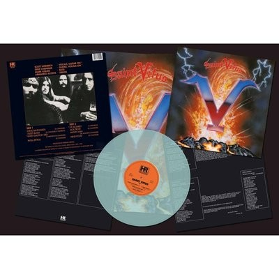 Saint Vitus - V LP (Electric Blue)