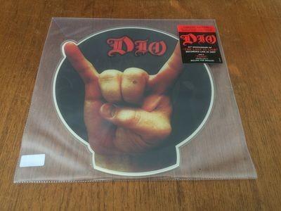 DIO - The Last in Line. Die Cut Picture - RSD 2019