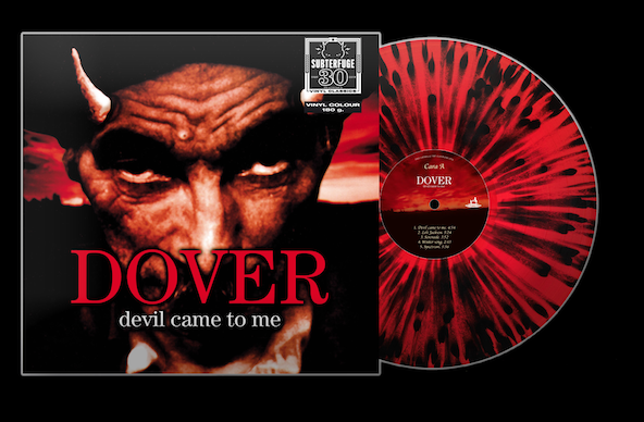 Dover - Devil Came to me. (Splatter Rojo)