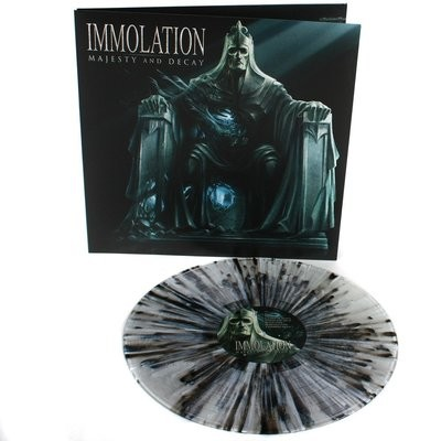 Immolation - Majesty And Decay splatter