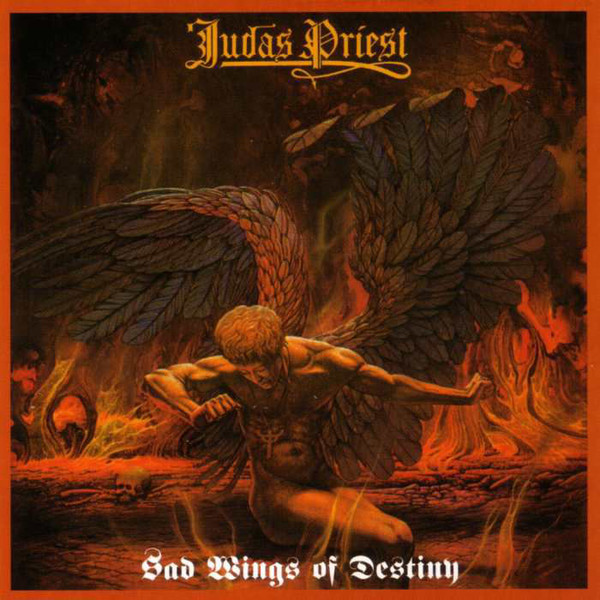 Judas Priest - Sad Wings of Destiny - Silver Marbled