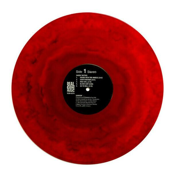 Samson - Shock Tactics (rojo)