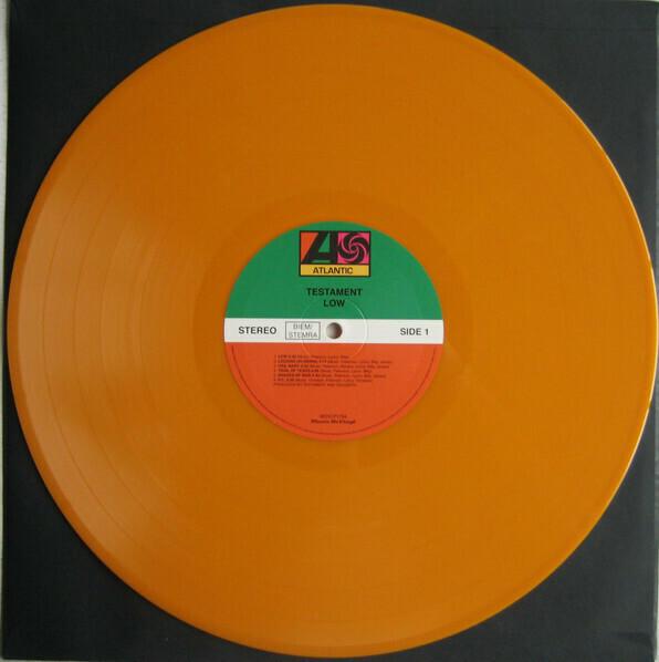 Testament – Low. Ed. Limit. (naranja)  - LP