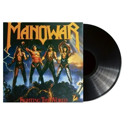 Manowar - Fighting The World  - LP