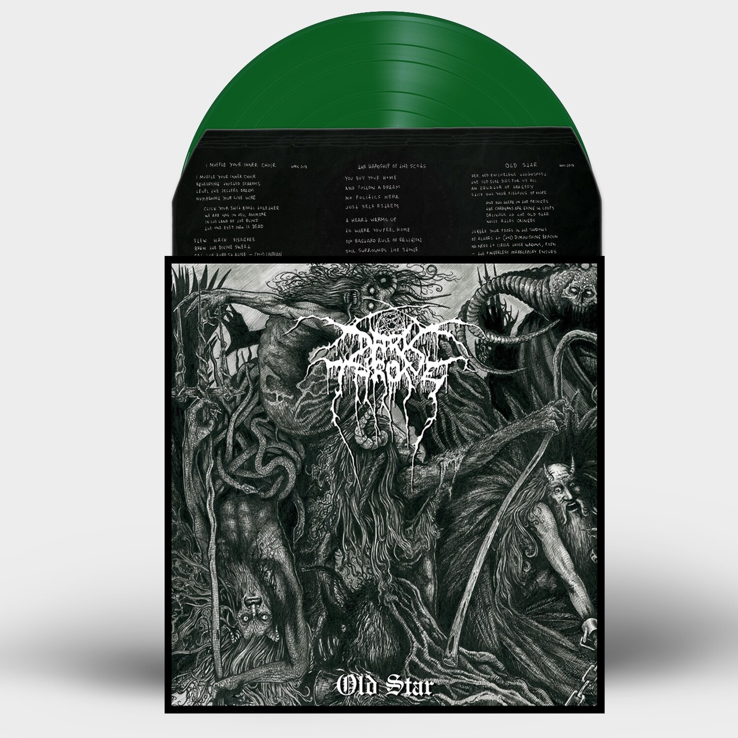 Darkthrone - Old Star - Vinilo Verde (Ed. Limitada)