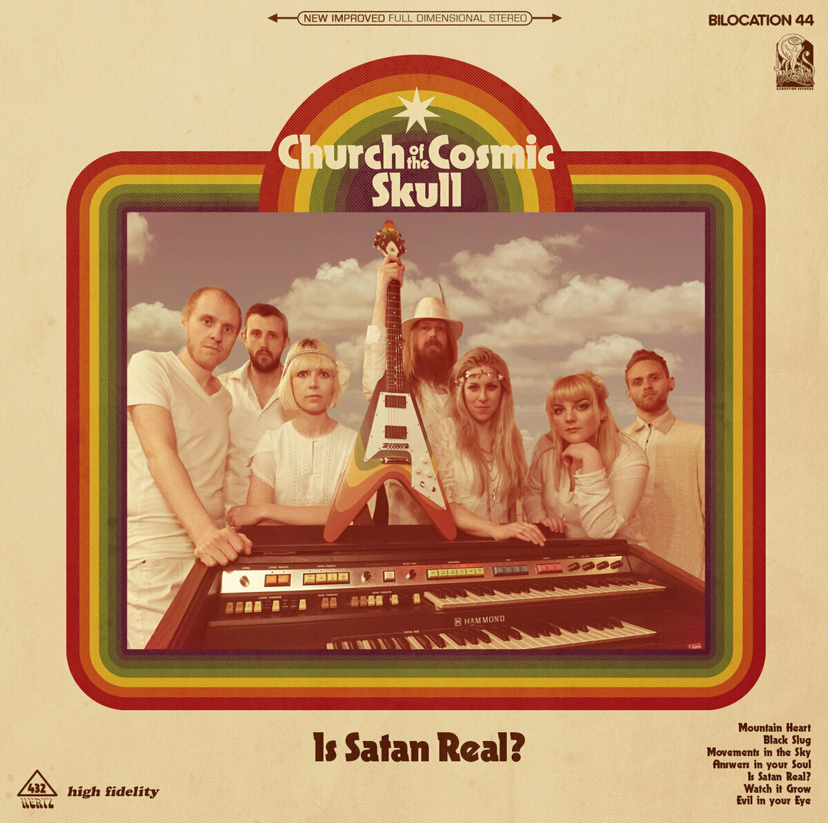 Church Of The Cosmic Skull - Is Satan Real? (Leaf Green Edition) - PreOrder