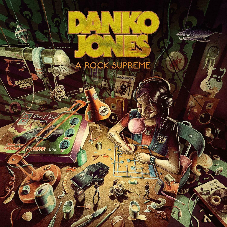 Danko Jones - A Rock Supreme (Uk Exclusive Burgundy Vinyl)