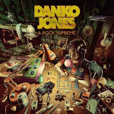 Danko Jones - A Rock Supreme (Uk Exclusive Burgundy Vinyl)