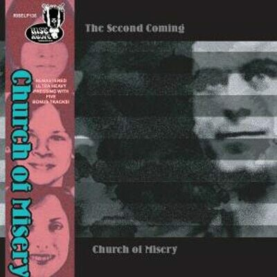 Church Of Misery - The Second Coming - 2LP- Gold Sparkle, Ed. 30 Aniversario