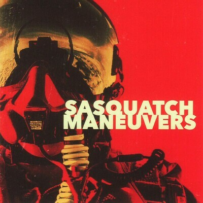 Sasquatch - Maneuvers - Red/Orange splatter