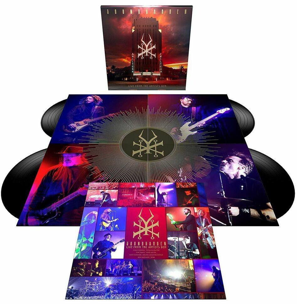 Soundgarden - Live From The Artists Den - 4LP