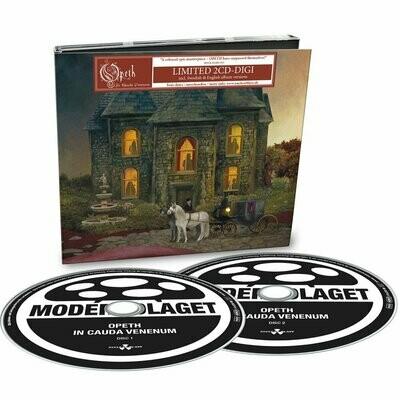 Opeth - In Cauda Venenum - 2CD - Digipack
