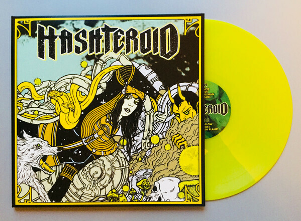 Hashteroid - Hashteroid (Yellow)  - LP