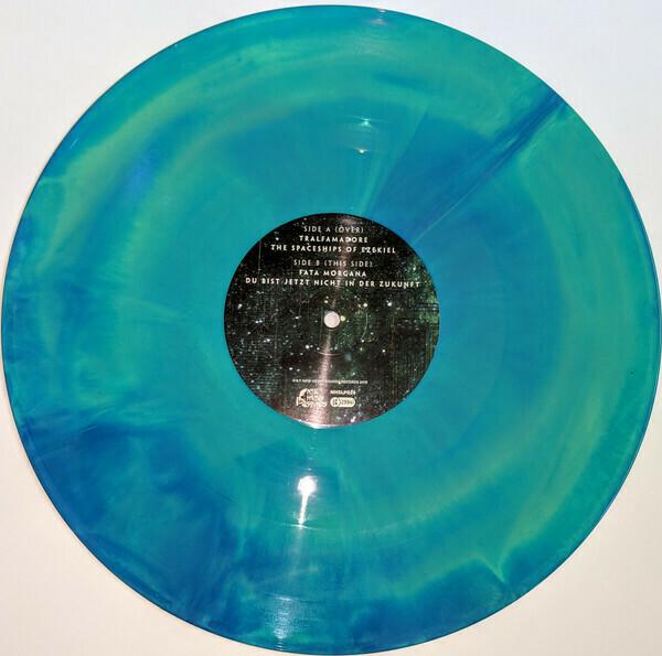 Mammoth Weed Wizard Bastard- Yn Ol I Annwn (Green/blue Vinyl)