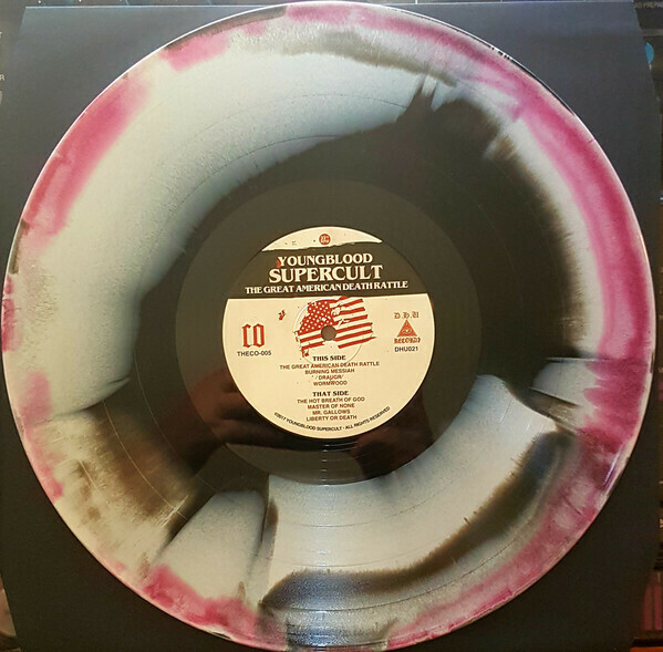 Youngblood Supercult - The Great American Death Rattle. The Ultimate Repress Edition - Black/Red/Bone 3x Aside/Bside
