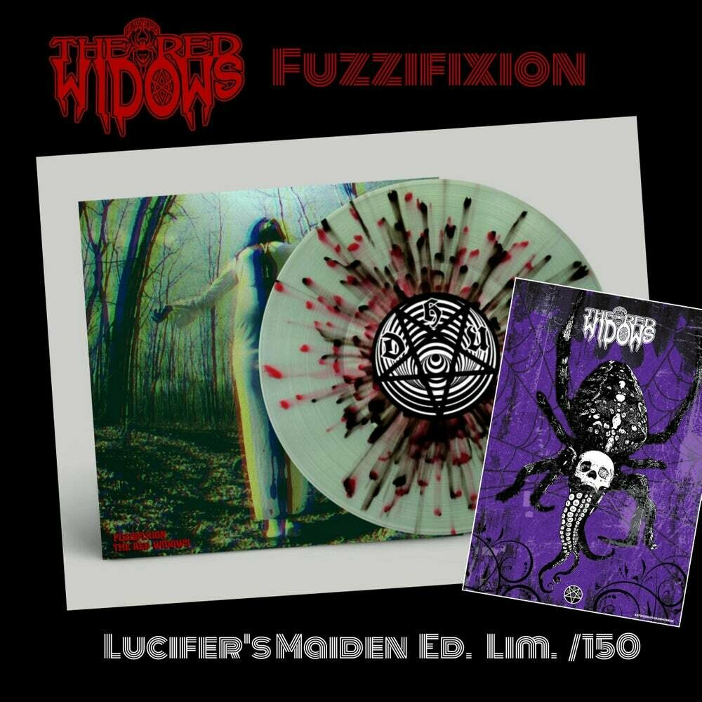 The Red Widows - Fuzzifixion 2LP- Lucifer's Maiden Ed.
