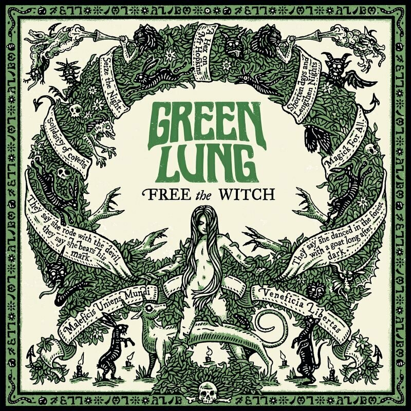 GREEN LUNG - Free The Witch (Forest Green) LP - Pre-Order
