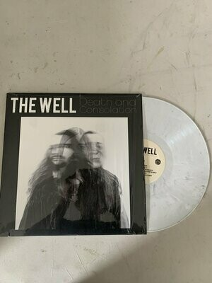 The Well ‎- Death and Consolation - Limited Edition, White w/ Black Smoke - LP