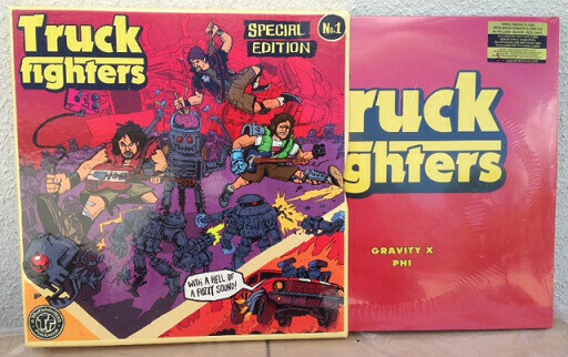 Truckfighters ‎- Gravity X And Phi Deluxe Boxset (3LP Color)