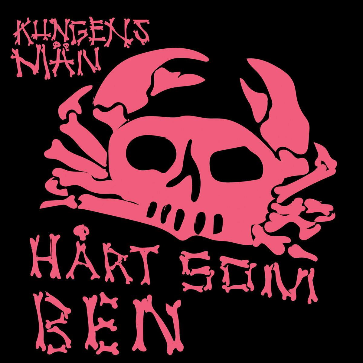 Kungens Man - Hårt Som Ben (rosa) - LP - PreOrder