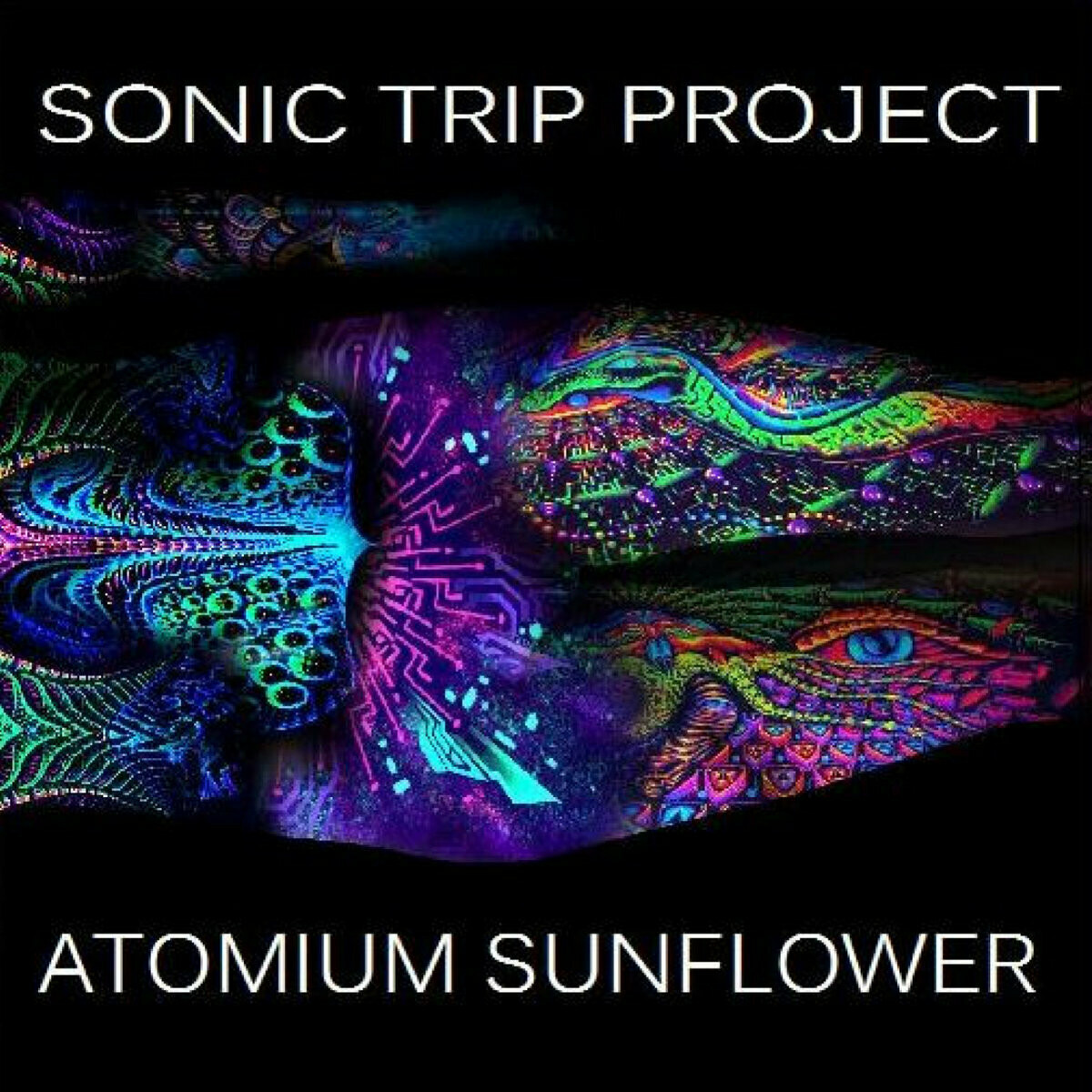 Sonic Trip Project - Atomium Sunflower (Blue/Mint) - 2LP - PreOrder​