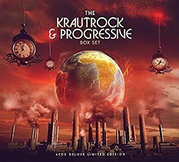 Various - Krautrock & Progressive: The Definitive Era (Red Marbled) -2LP - PreOrder